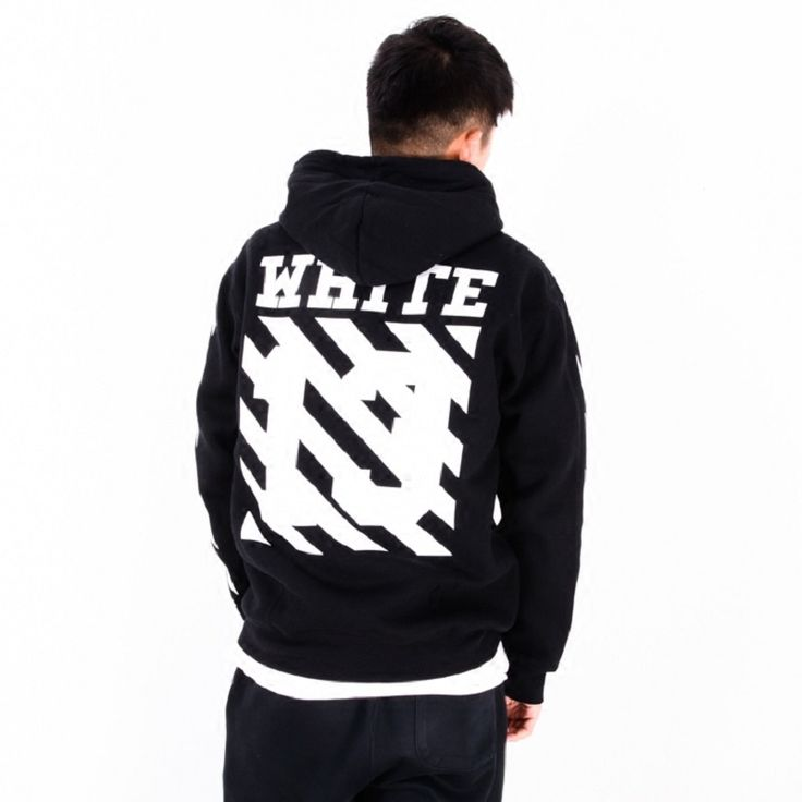 Real Hot Off White Brand 13 Exo GD Religious Fleece Hoodie With Off White Tag Sweatshirts Cotton Hoodies Blcakc Colors