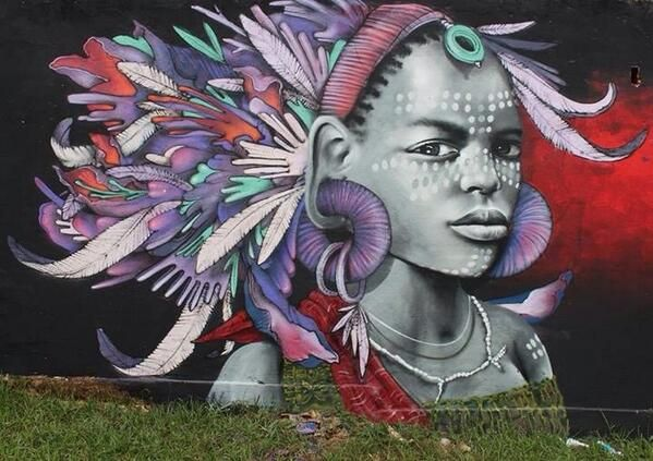 Artist Morbeck & Decy new brilliant character Street Art piece in Brazil