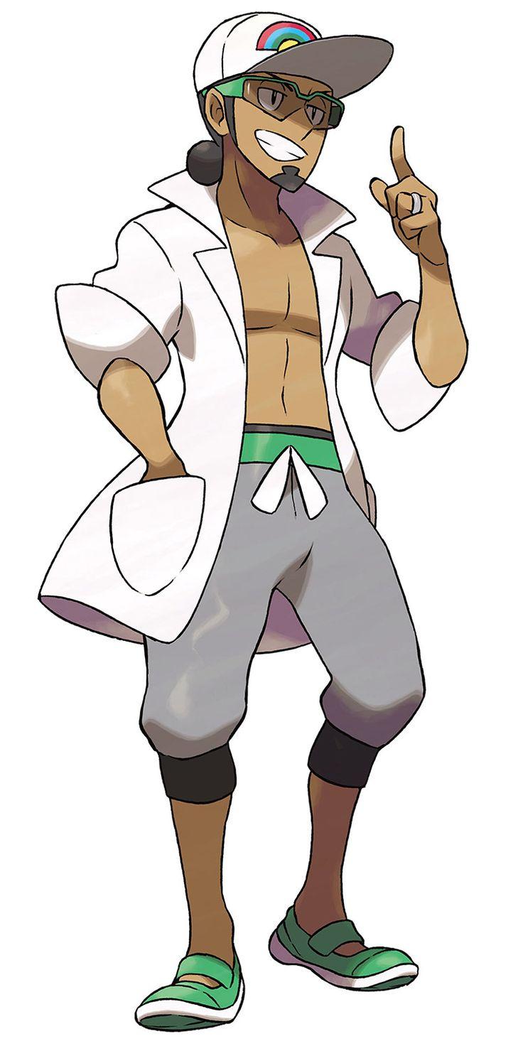 Kukui from Pokémon Sun and Moon