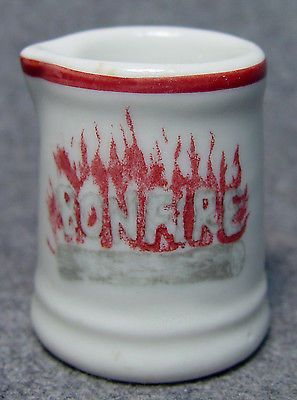 Bonfire Restaurant Hotel Advertising Club Individual China Creamer Miami Florida