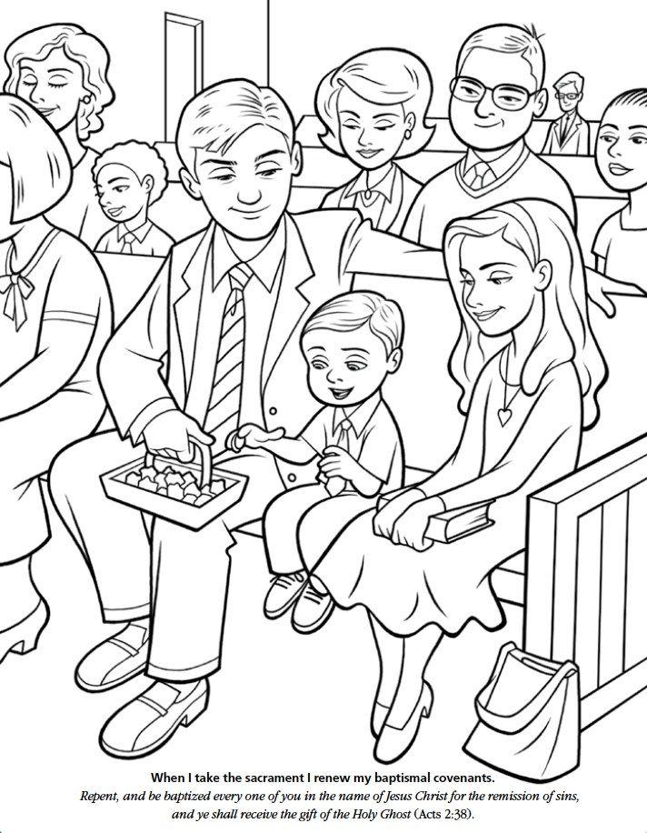 LDS Games - Color Time - The Sacrament    www.MormonLink.com  #LDS #Mormon #SpreadtheGospel