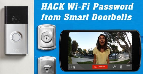 Here is How to Hack WiFi Password from Internet of Things based Smart Doorbell.