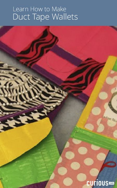 In This Course Learn How To Make Diy Duct Tape Wallets