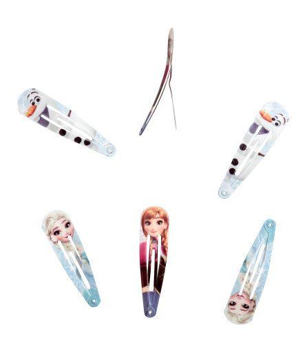 6-pack hårspenner | Mintgrønn/Frost | Barn | H&M NO