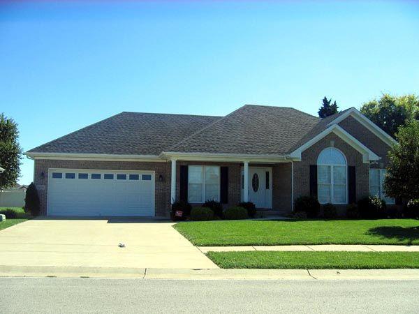 Ranch House Plan 54457