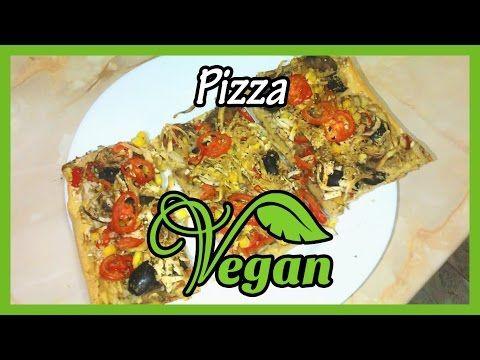 Pizza vegană | Mâncare de post – vegană