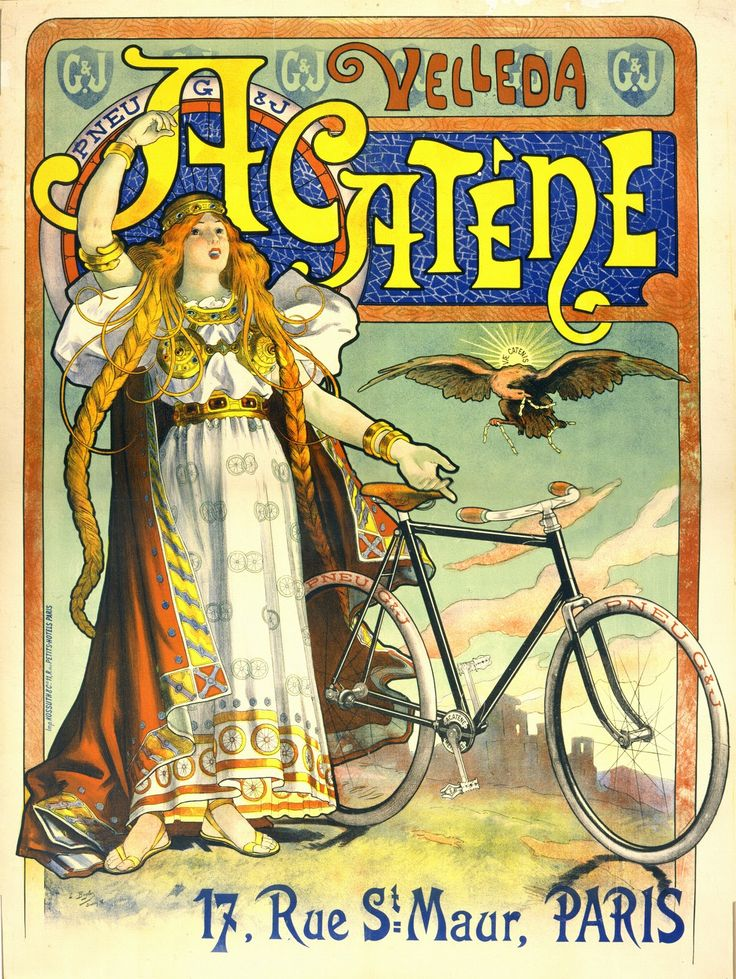 Vintage French Advertising Posters (Looks like a possible Germania?)