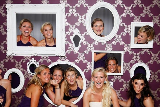 Photo wall! - cheaper alternative to photo booth!