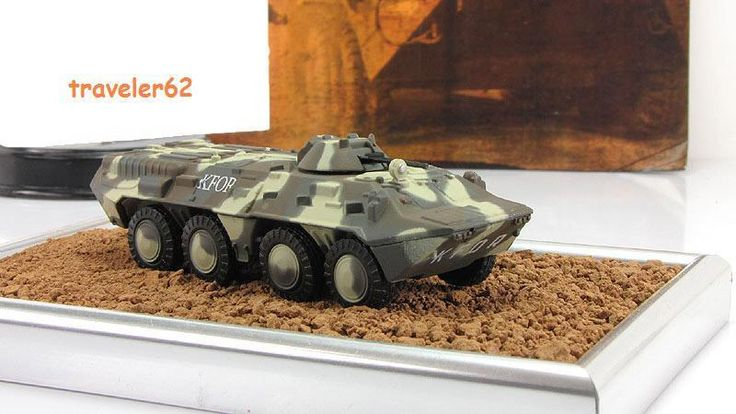 1:72 BTR-80 8Х8 amphibious armoured personnel carrier mod & mag №5 Russian Tanks #GeFabbri
