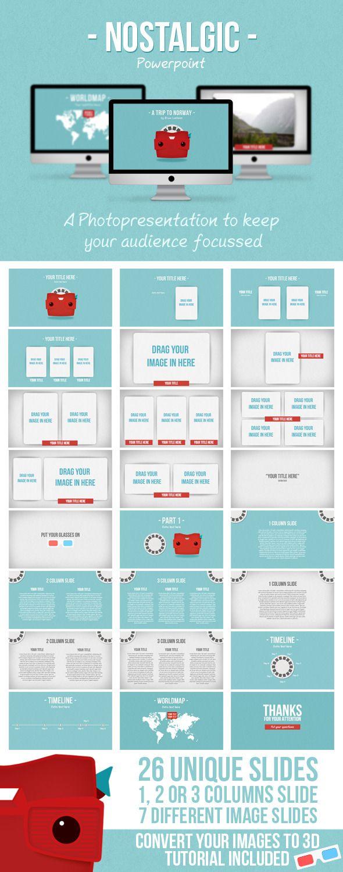 Nostalgic Presentation - PowerPoint Templates Presentation Templates