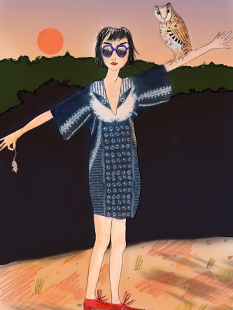 Ermantrude in - An Illustrative Tale: Charlotte Linton - The Magazine by Anthropologie