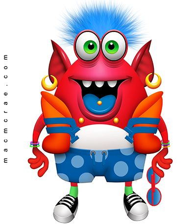 17 best Clipart images on Pinterest   Monster illustration, Cartoon