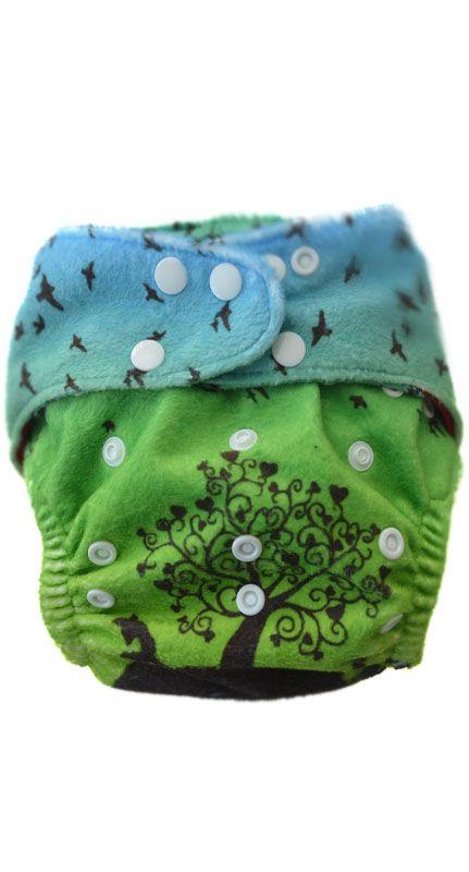 Pupidu Australain Stockist -Take Home Lay-by , Cloth nappy Wunderland Sunset - snap Kokadi Cloth Nappy