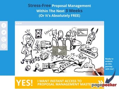 20 Best Proposal Management Images On Pinterest Job Interviews