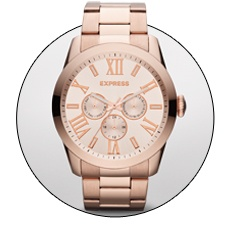 Valentine's Day is on! Check out MULTI-FUNCTION BRACELET WATCH - ROSE GOLD on the <3 Day Gift Guide: http://express.com/giftguide