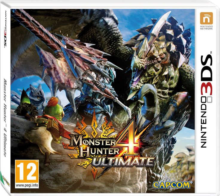 Monster Hunter 4 Ultimate (Nintendo 3DS): Amazon.co.uk: PC & Video Games