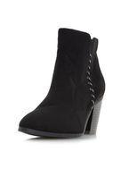 Womens *Head Over Heels By Dune Black Pandoro Ladies Ankle Boots- Black
