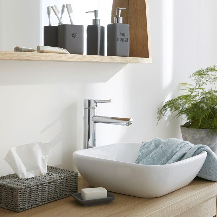 Les 25 meilleures id es de la cat gorie salle de bain - Accessoires salle de bain alinea ...