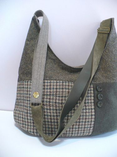 bags we design & create from our screenprinted fabrics, or from recycled leather.