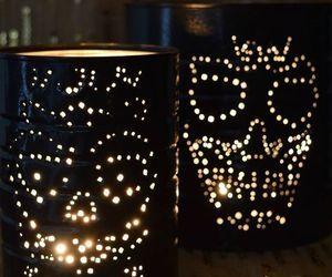 d a de muertos luminaries, crafts, halloween decorations