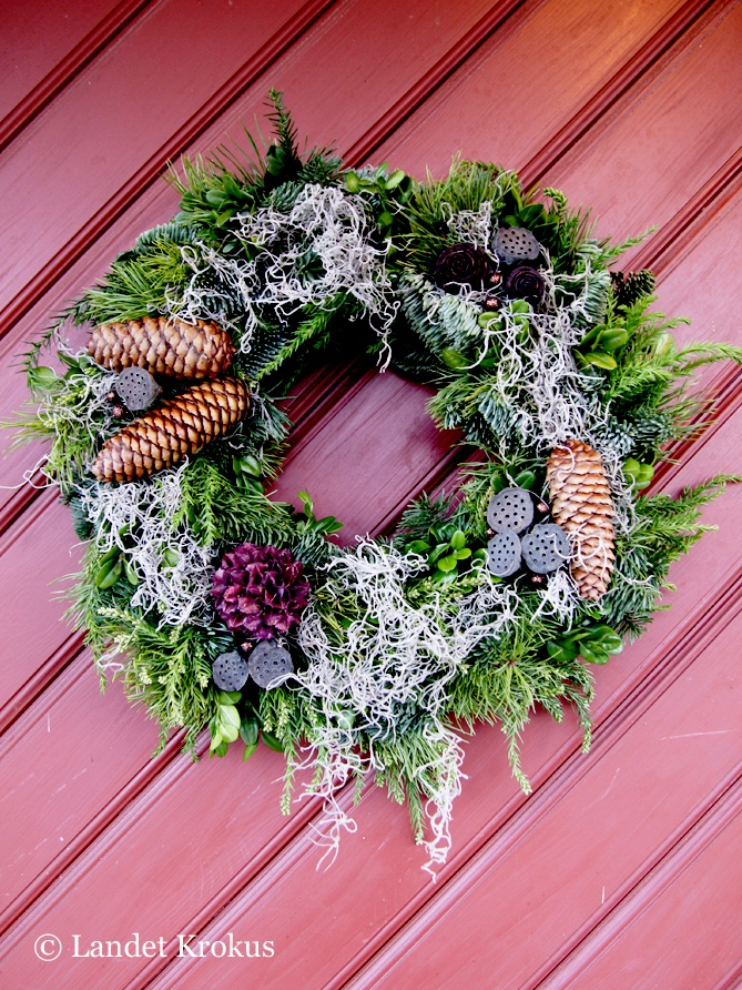 winter wreath @Hanne Malmsten Malmsten Malmsten Gundersen Krokus