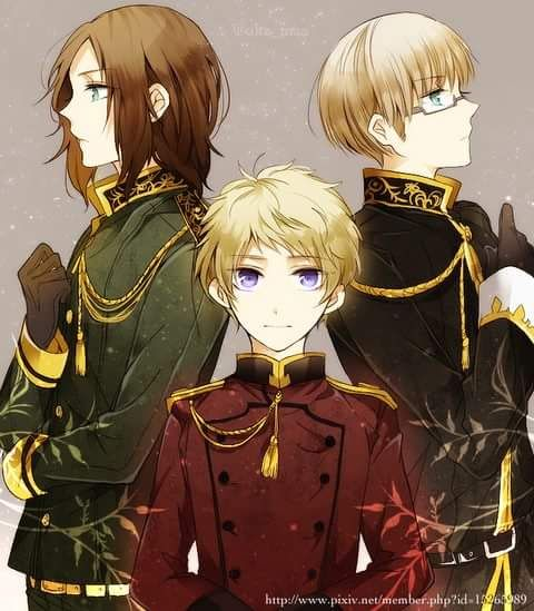 Hetalia (ヘタリア) - The Three Baltic States - Lithuania, Estonia, & Latvia