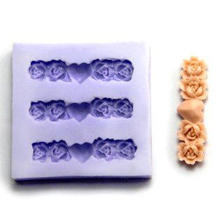 47cm mini Flower F0089 Fondant Mold Silicone Sugar mini mold Craft Molds DIY Cake Decorating >>> Check out the image by visiting the link.