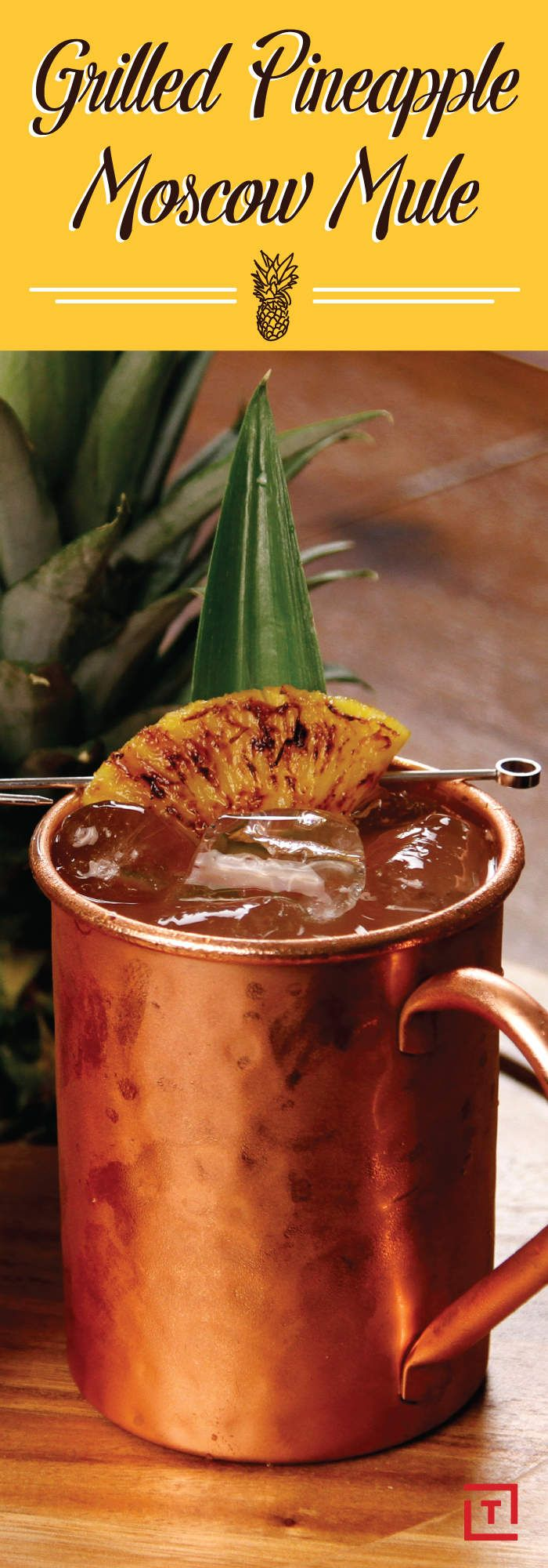 Here's How to Make a Pineapple Vodka Moscow Mule - Thrillist