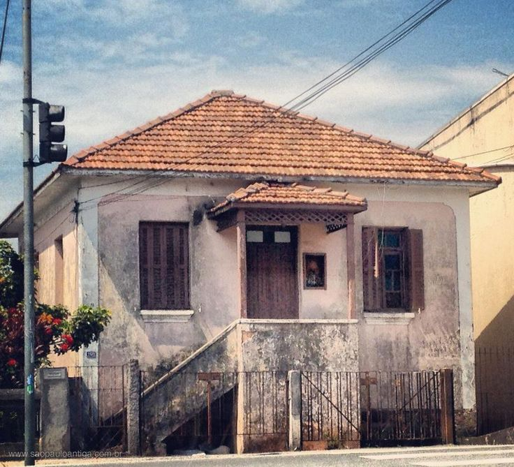 Demolished house at Imirim Avenue - Sao Paulo, Brazil