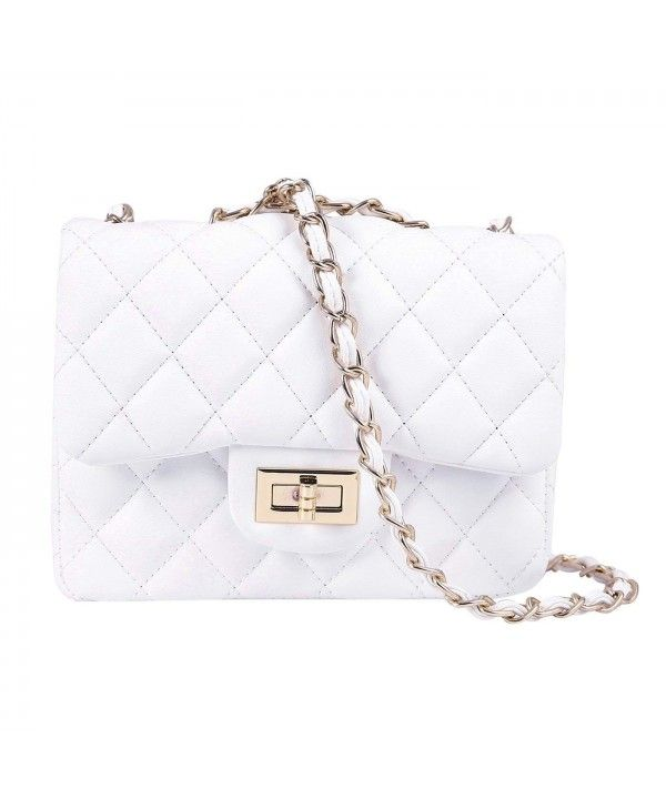Womens Quilted Crossbody Bag Designer Quality Mini Purse Handbag Metal Chain White C118dxyq5ii Crossbody Bag Designer Crossbody Bags Purses Handbags