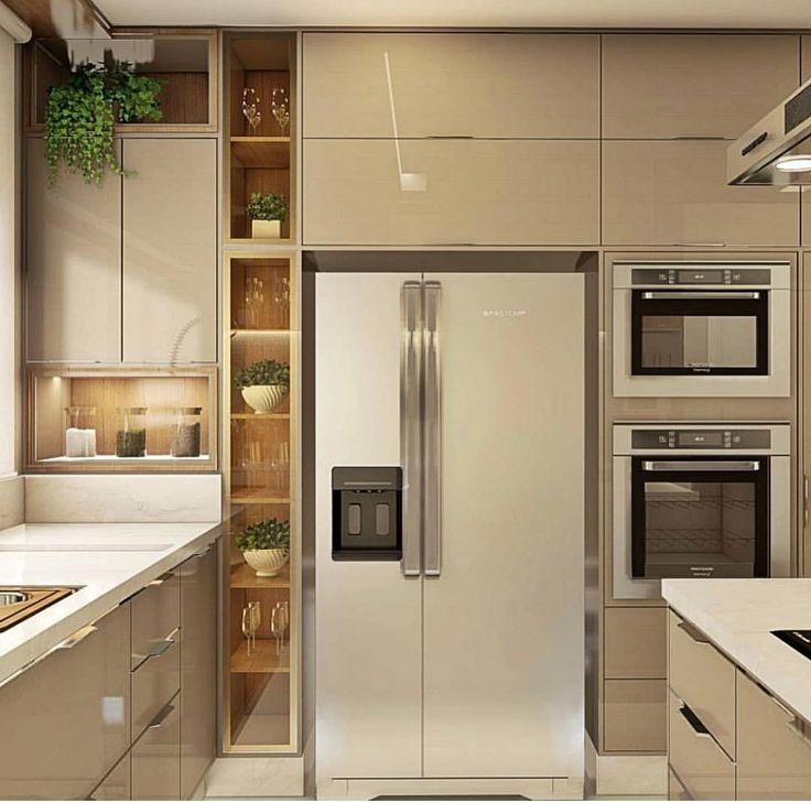 кухни с невстроенным холодильником фото сожалению, появлением