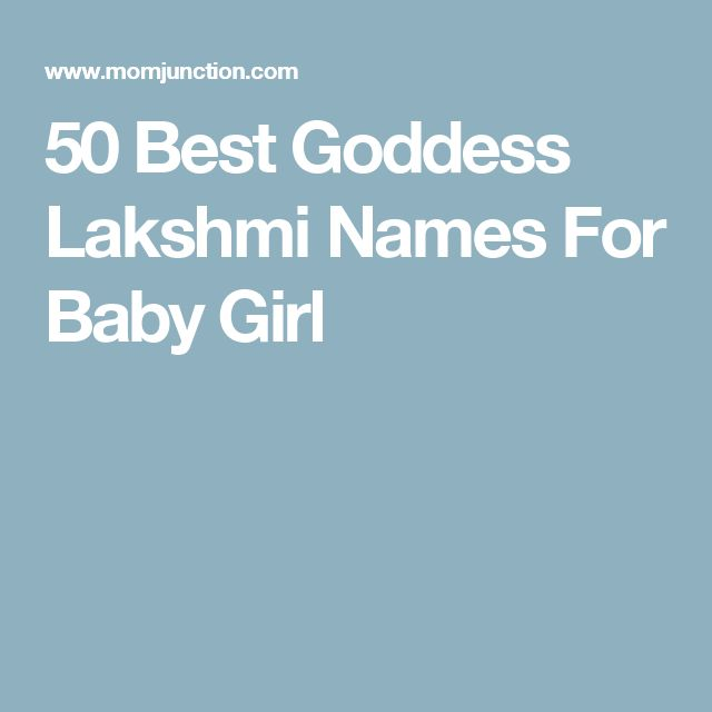 50 Best Goddess Lakshmi Names For Baby Girl