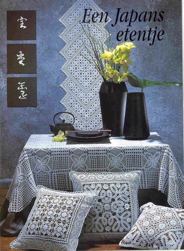 Creaciones Crochet nº 28 - 12345 - Álbumes web de Picasa  polštáře    ,POLŠTÁŘE, BORDURY, DEČKY