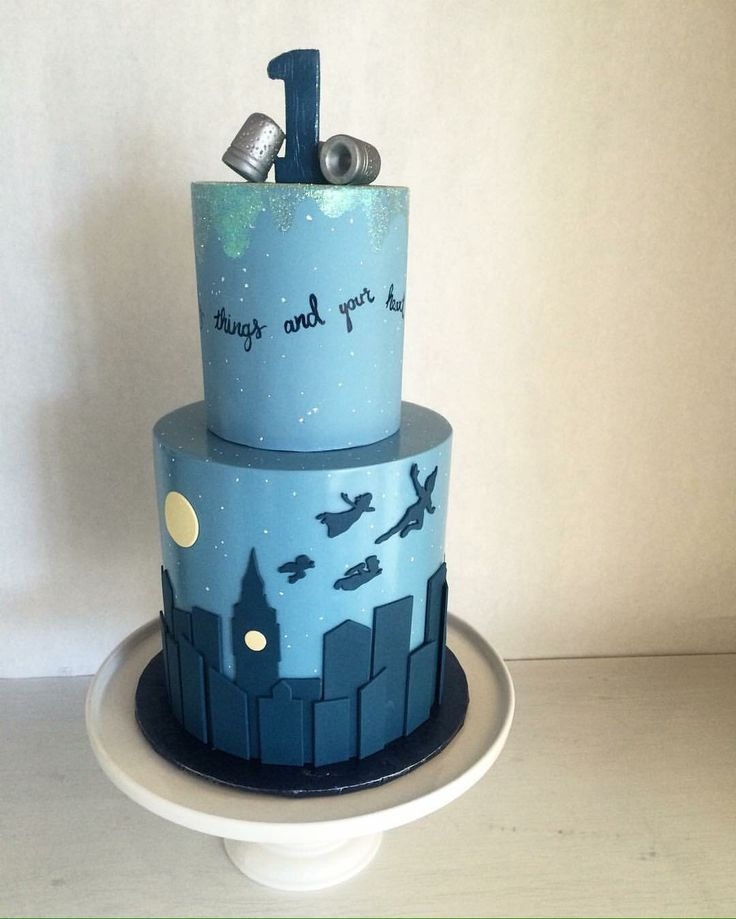Breath-taking Peter Pan cake! (Designed by Catie Rizzo at Baked. Seattle) - The Bitty-Bits Blog