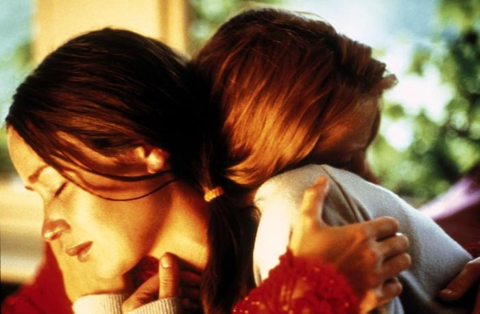 """Tamsin (Emily Blunt): """"If you leave me, I'll kill you."""" // Mona (Natalie Press): """"If you leave me, I'll kill you... and then I'll kill myself."""" -- from My Summer of Love (2004) directed by Pawel Pawlikowski"""