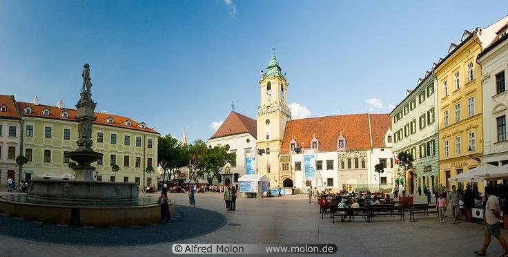 Quaint Town Square Bratslava, Slovakia  SK