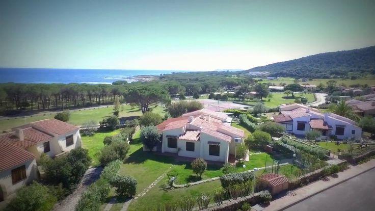 Orizzonte Casa Sardegna - Villa in bifamiliare a 200 metri dal mare - VIDEO DRONE - YouTube