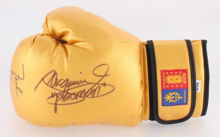 Manny Pacquiao & Freddie Roach Dual Signed MP8 Boxing Glove (Pacquiao COA)