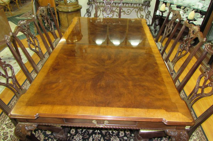Henredon Rittenhouse Square Chippendal Dining Table