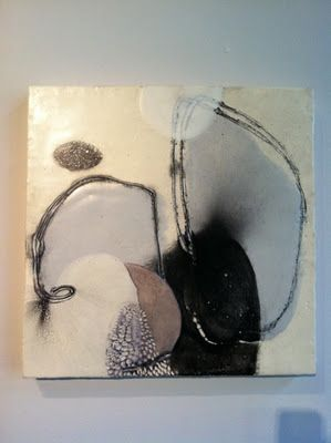 Toby SissonArt Painting'S Contemporary, Art Ii, Art Inspiration, Toby Sisson, Mixed Media, Collage, Encaustic Painting, Art Artists, Encaustic Art