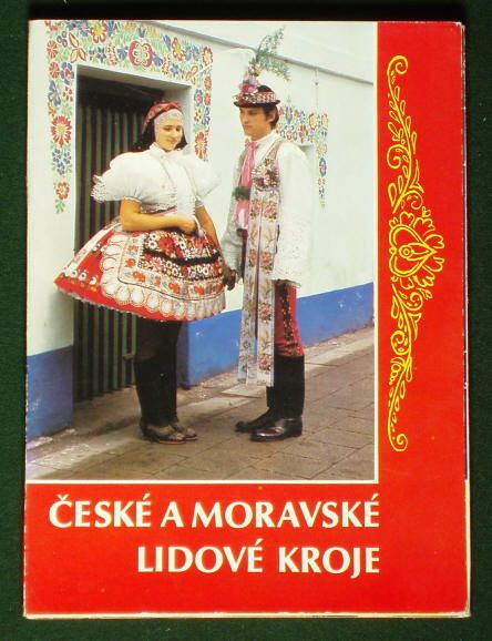 CZECH & MORAVIAN FOLK COSTUMES ethnic dress kroj book embroidery fashion art