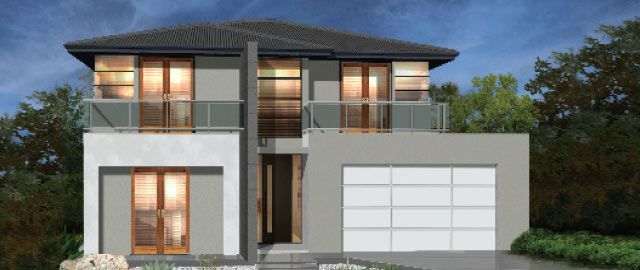 The Taranto - from the Weeks Peacock Homes Urban Style Range. The commanding facade of the Taranto will invite you inside to experience the ultimate showcase of modern day living.
