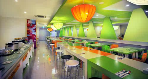 Lime Cafe Fave Hotel Braga Bandung