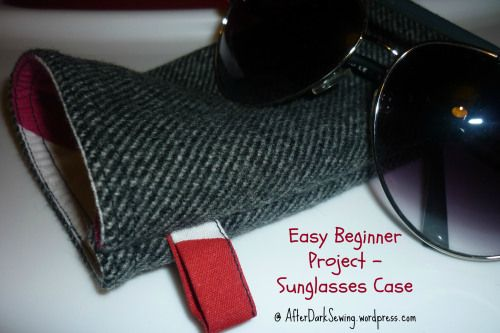 Easy Beginner Project - A Sunglasses Case