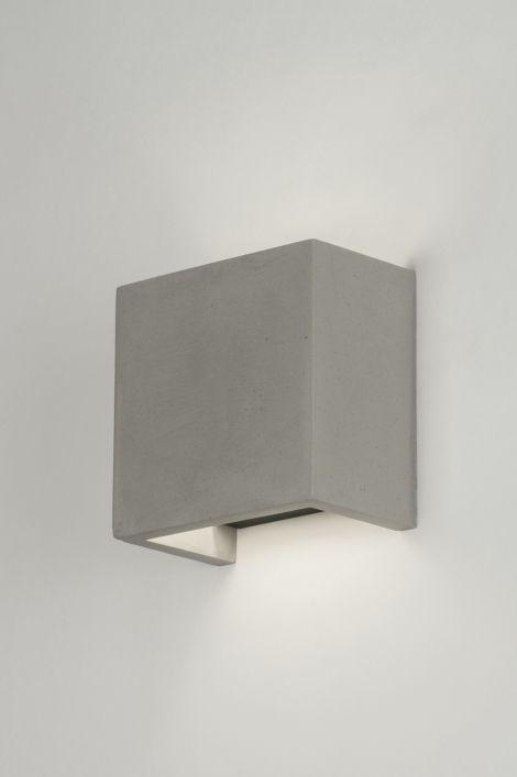Wandlamp 72426: Modern, Landelijk Rustiek, Industrie, Look