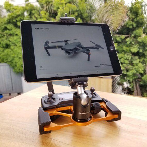 Mavmount 4 0 Ipad Tablet Adapter For Dji Mavic Air 2 Mavic Etsy Drones Concept Drone Technology Diy Drone