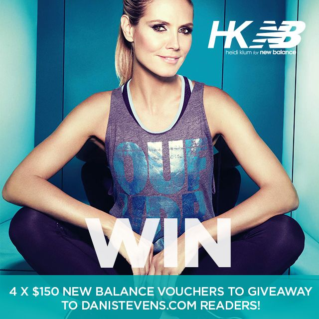 New Balance Heidi Klum Giveaway