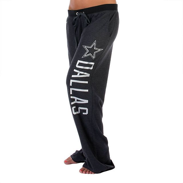 NFL Dallas Cowboys PINK Boyfriend Pant in Grey at shop.dallascowboys.com