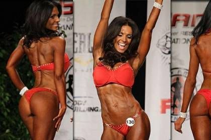 Denise Milani fitness fit women model