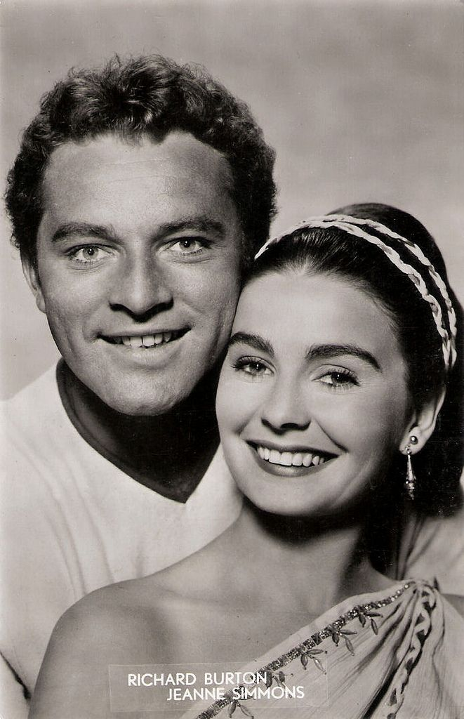Richard Burton and Jean Simmons